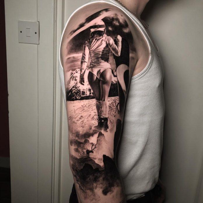 25 11-100 beaux tatouages réalistes pour hommes