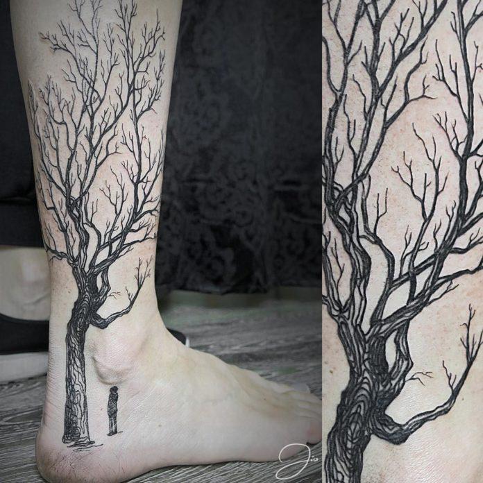 31 - 50 tatouages de cheville pour femmes