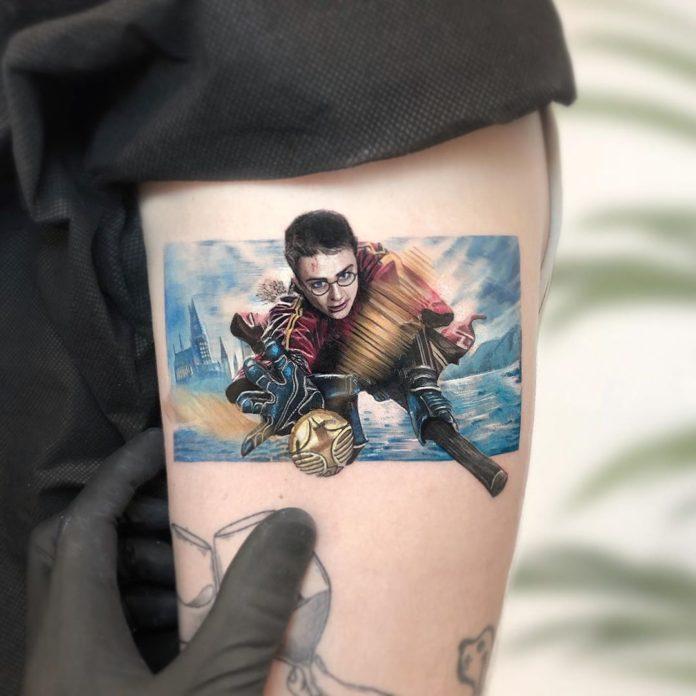 34 9-100 beaux tatouages réalistes pour hommes