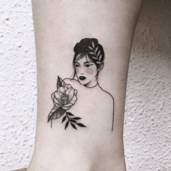 34 - 50 tatouages de cheville pour femmes