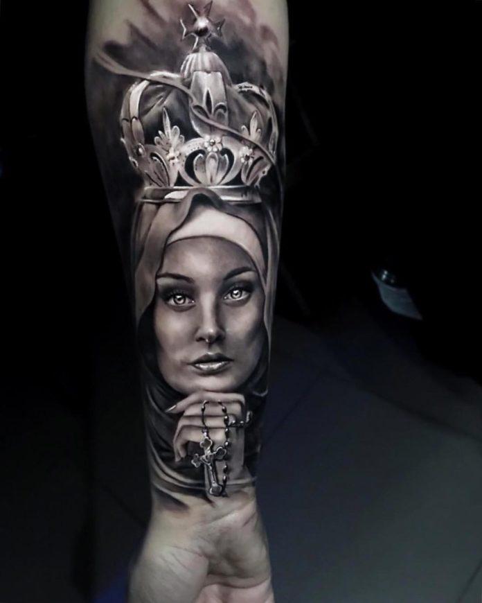 36 3-40 tatouages croisés pour hommes