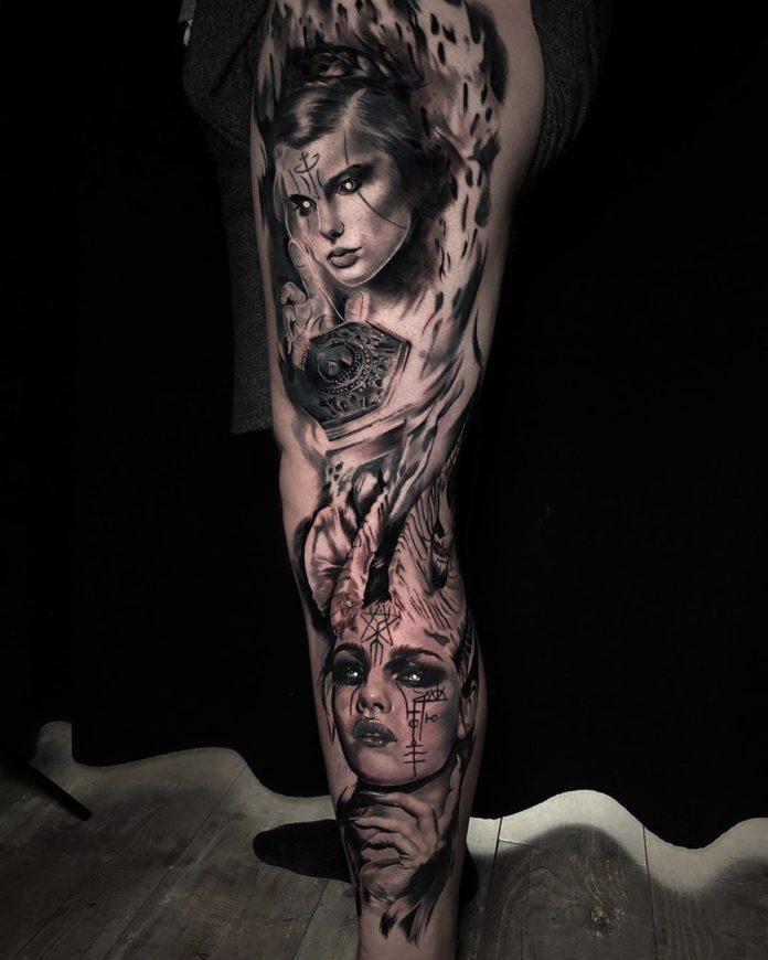 36 8-100 beaux tatouages réalistes pour hommes