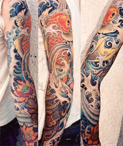 TOP 181 - Obtenez un tatouage japonais du pays du soleil levant 10
