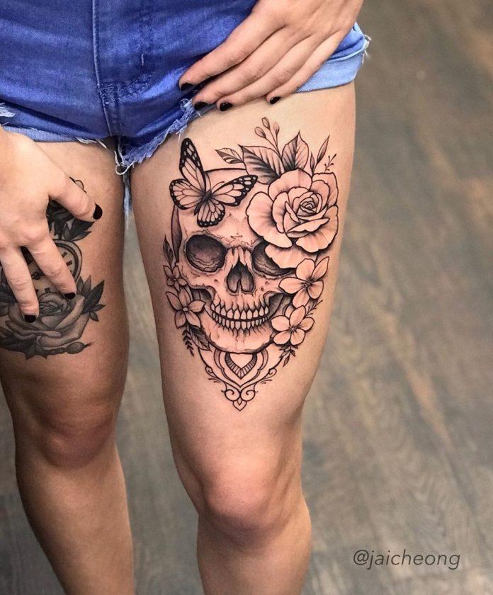 40 2-100 tatouages roses pour femmes