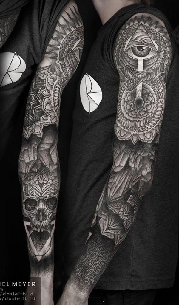 Tatouages badass et manches originales 32