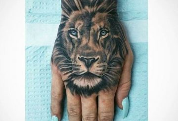 Le meilleur tatouage de lion pour vous et votre roi intérieur de la jungle! Top 151 3