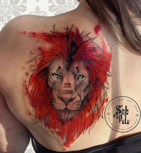 Le meilleur tatouage de lion pour vous et votre roi intérieur de la jungle! Top 151 18
