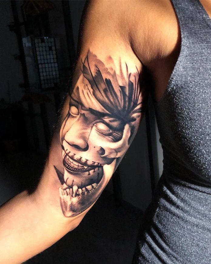 5 tatouages 4-40 biceps pour hommes