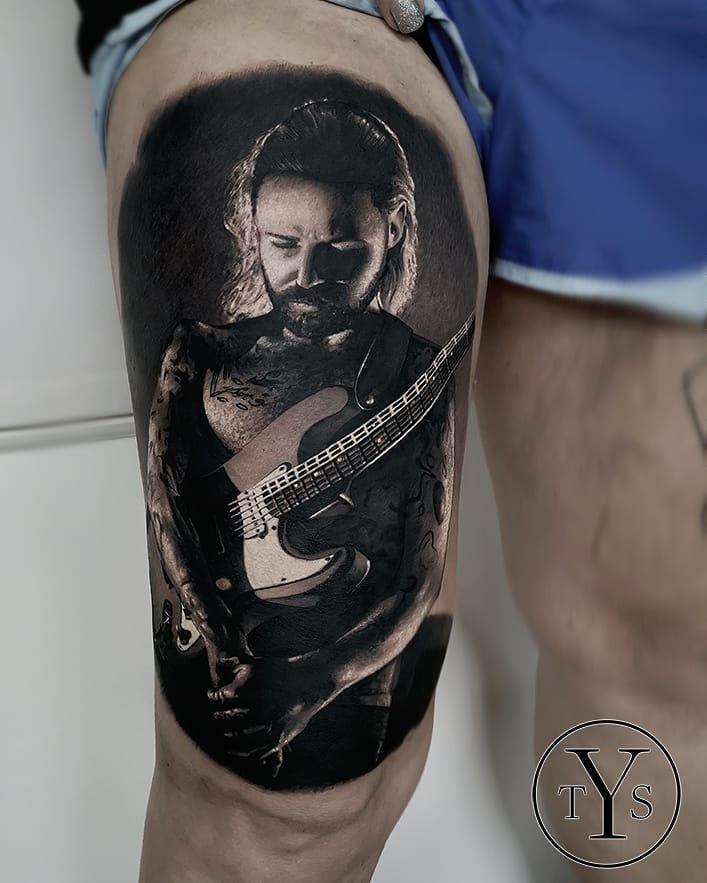 5 8-100 beaux tatouages réalistes pour hommes