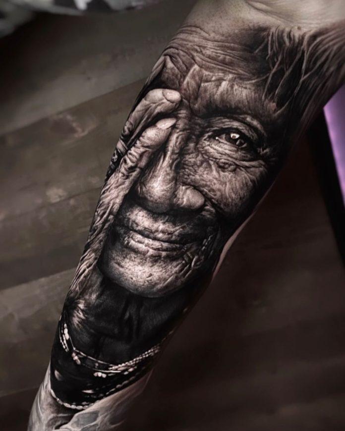 55 3 - 100 magnifiques Tatouages Réalistes pour Homme