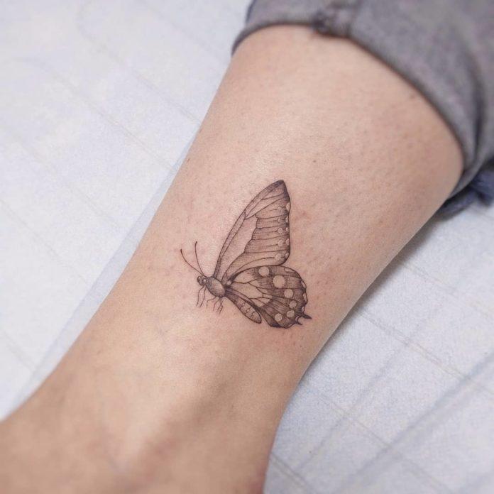 56-50 tatouages à la cheville pour les femmes