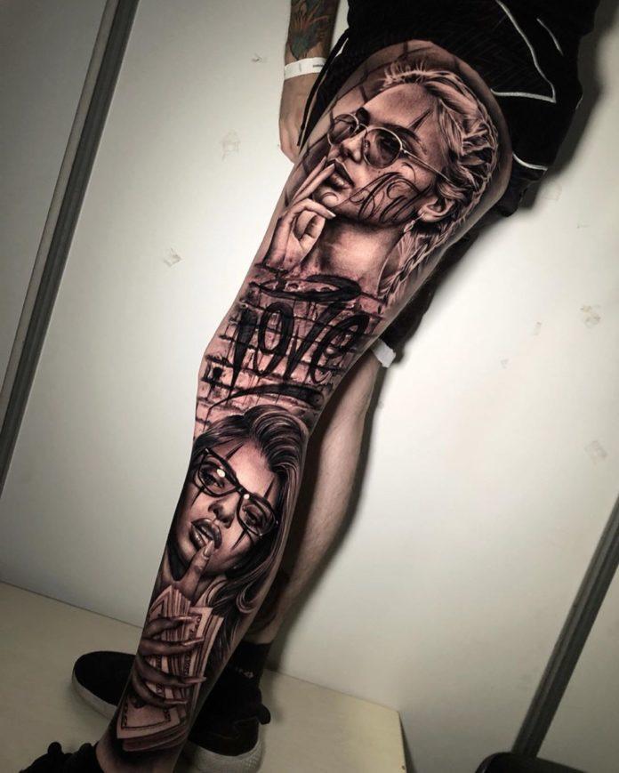 58 1 - 100 magnifiques Tatouages Réalistes pour Homme