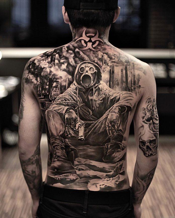 6 7-100 beaux tatouages réalistes pour hommes