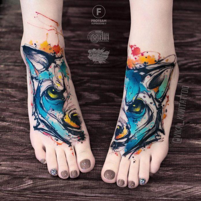 7 4 - 40 Tatouages Pied pour Femme