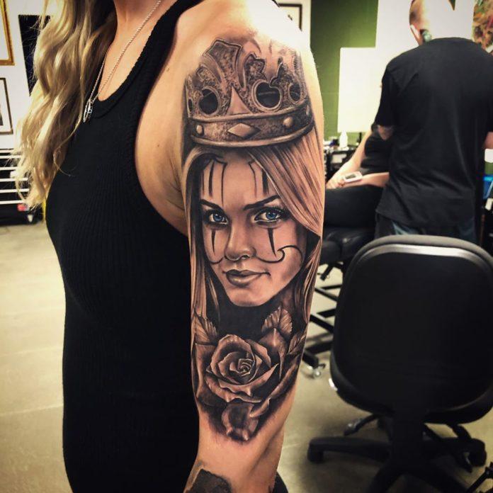 83 2 - 100 Tatouages Rose pour Femme
