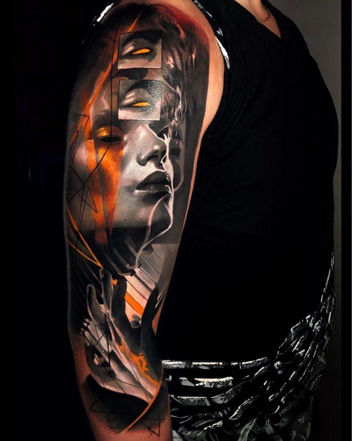 85 3 - 100 magnifiques Tatouages Réalistes pour Homme