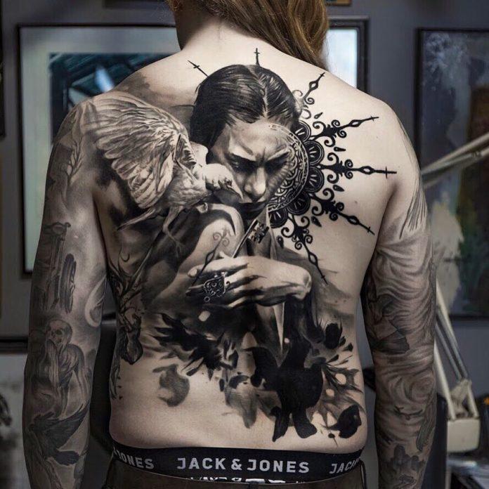 9 7-100 beaux tatouages réalistes pour hommes