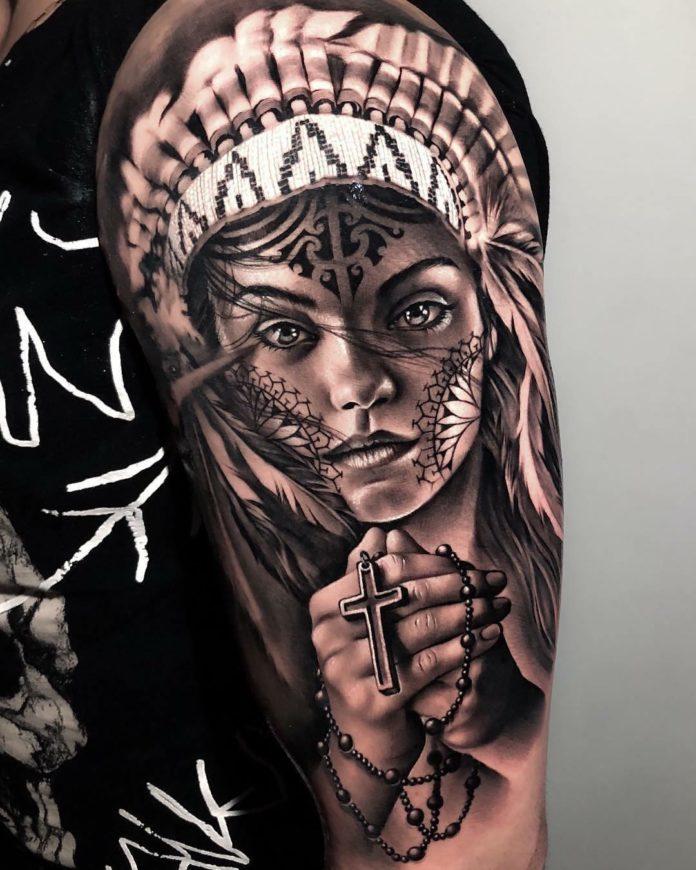 9 9 - 40 tatouages croisés pour hommes