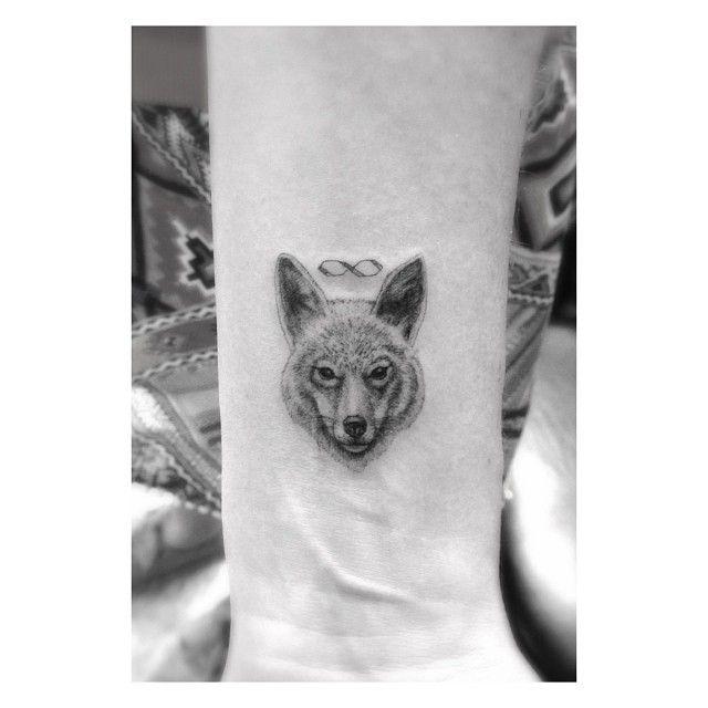 Meilleur tatouage de loup pour hurler sur la lune 42