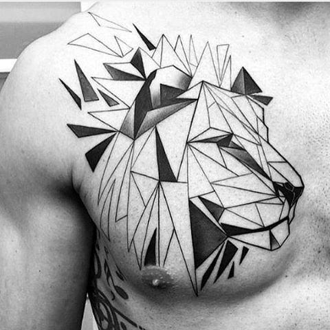 Le meilleur tatouage de lion pour vous et votre roi intérieur de la jungle! Top 151 36