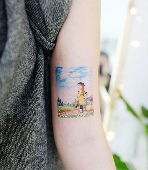 Anne Of Green Gables Bras Tattoo