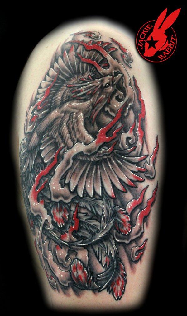 Beaux Designs De Tatouage Phoenix 15