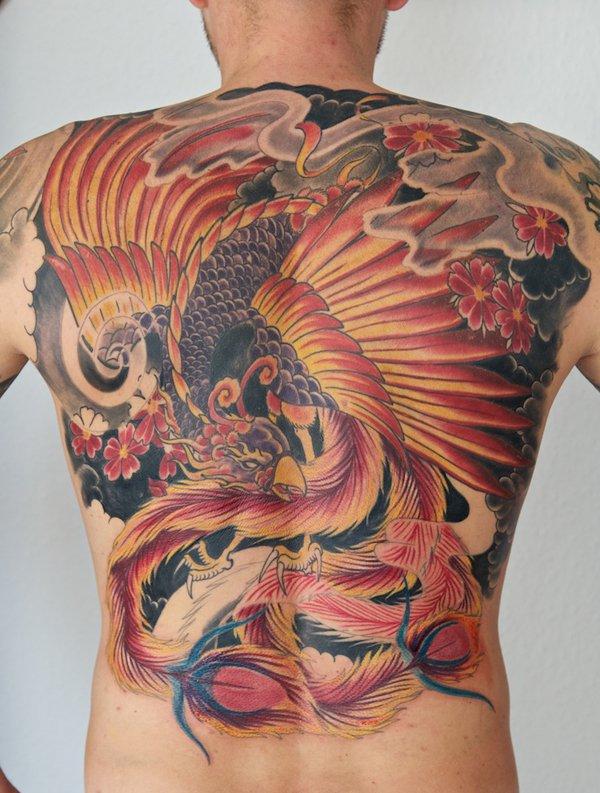 Beaux Designs De Tatouage Phoenix 18