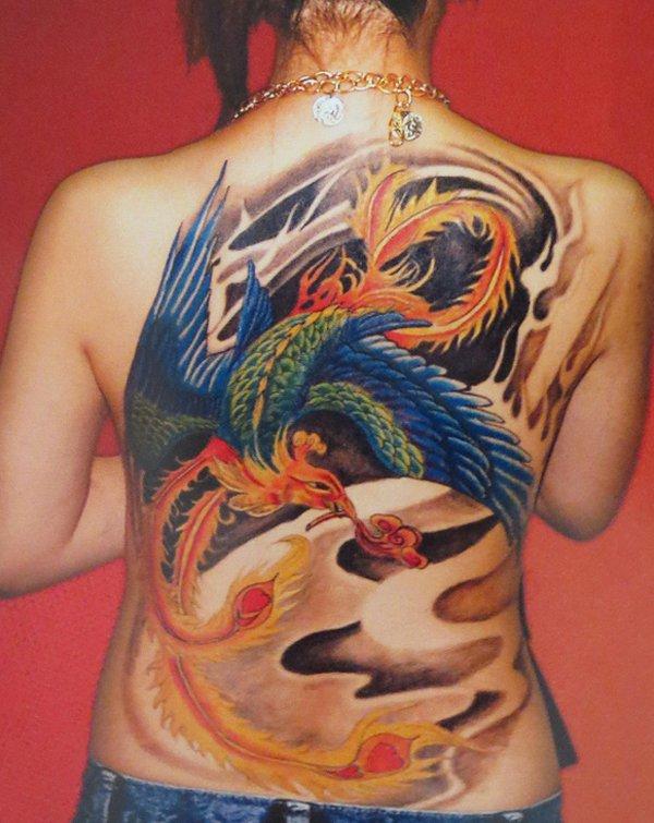 Beaux Designs De Tatouage Phoenix 20