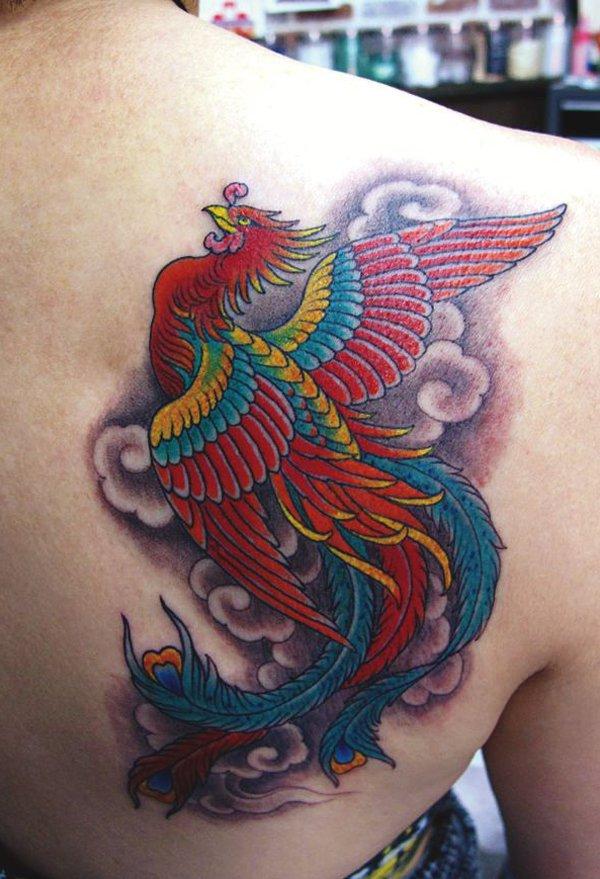 Beaux Designs De Tatouage Phoenix 23