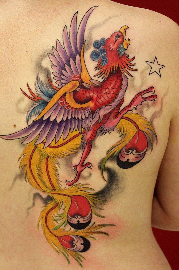 Beaux Designs De Tatouage Phoenix 26
