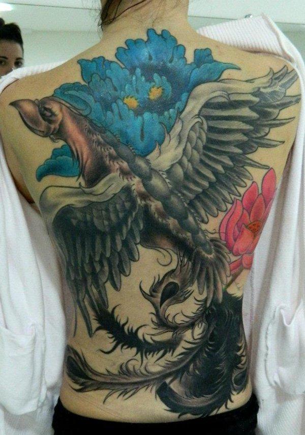 Beaux Designs De Tatouage Phoenix 27