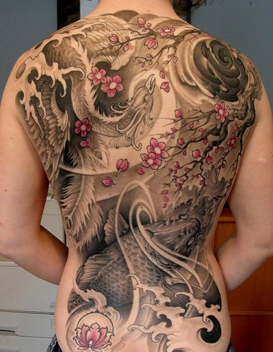 Beaux Designs De Tatouage Phoenix 34