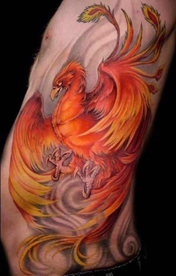 Beaux Designs De Tatouage Phoenix 9