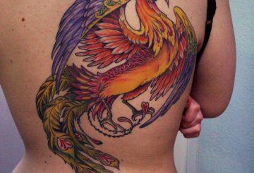 Découvrez les designs de tatouage Phoenix que vous aimez 2