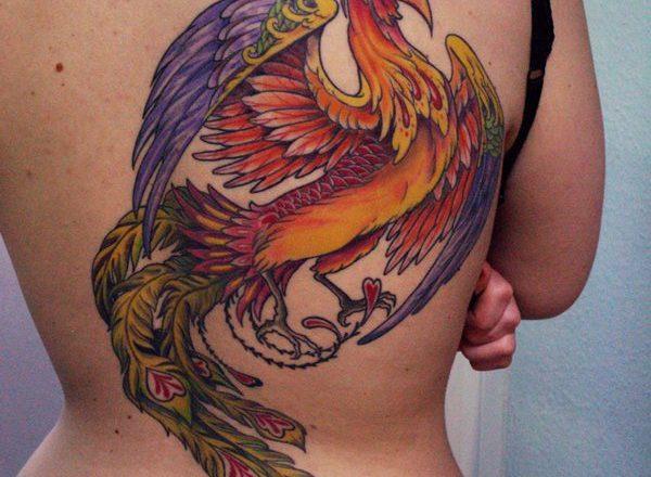 Découvrez les designs de tatouage Phoenix que vous aimez 1