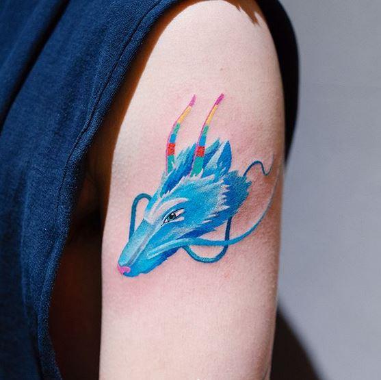 40 collection de tatouages Zihee qui vous permettent d'apprécier les encres colorées 2