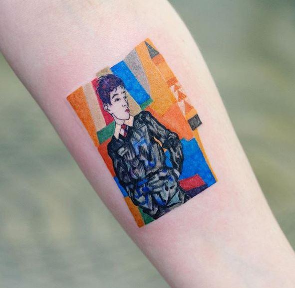 40 collection de tatouages Zihee qui vous permettent d'apprécier les encres colorées 3
