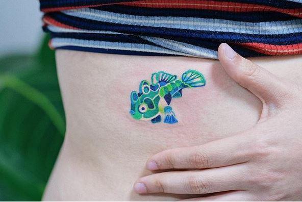 40 collection de tatouages Zihee qui vous permettent d'apprécier les encres colorées 5