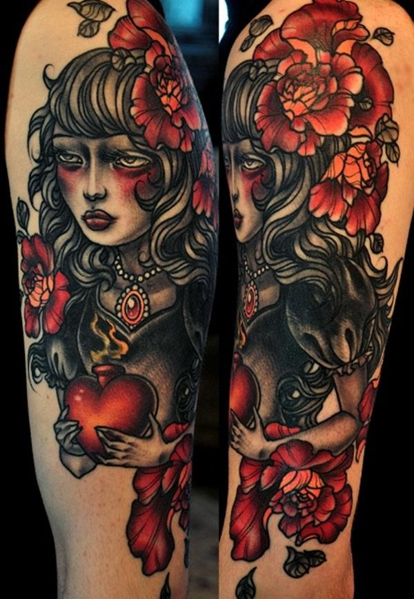 Dessins de tatouage demi-manche 4
