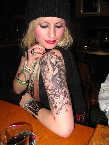 Dessins de tatouage demi-manche 52