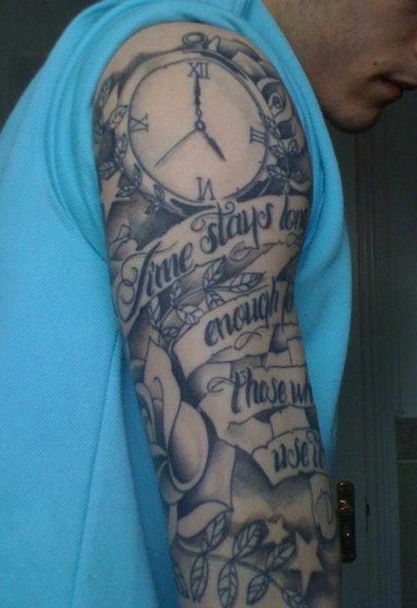 Dessins de tatouage demi-manche 55