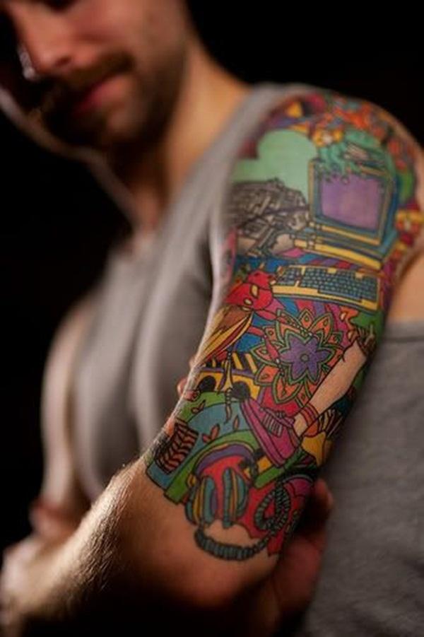 Dessins de tatouage demi-manche 7