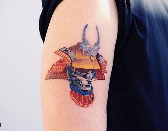 40 collection de tatouages Zihee qui vous permettent d'apprécier les encres colorées 6