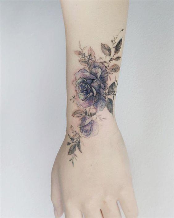 Tatouage Avant-bras Xray Rose