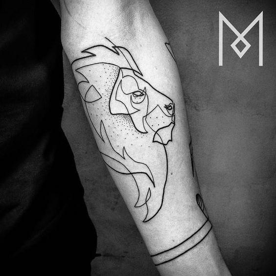 Le meilleur tatouage de lion pour vous et votre roi intérieur de la jungle! Top 151 74