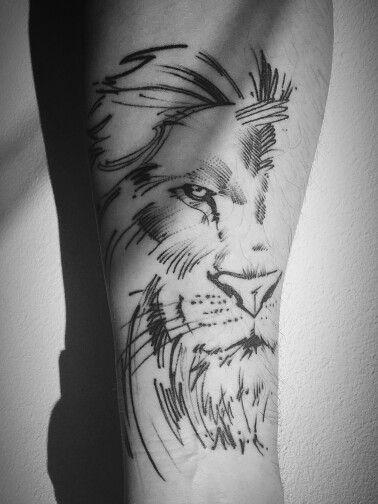 Le meilleur tatouage de lion pour vous et votre roi intérieur de la jungle! Top 151 70
