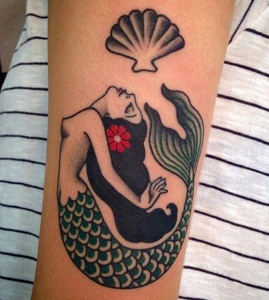 191 tatouages de sirène pour ceux qui sont obsédés par les sirènes 78