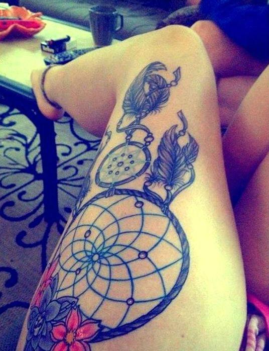dreamcatcher tatouage 08