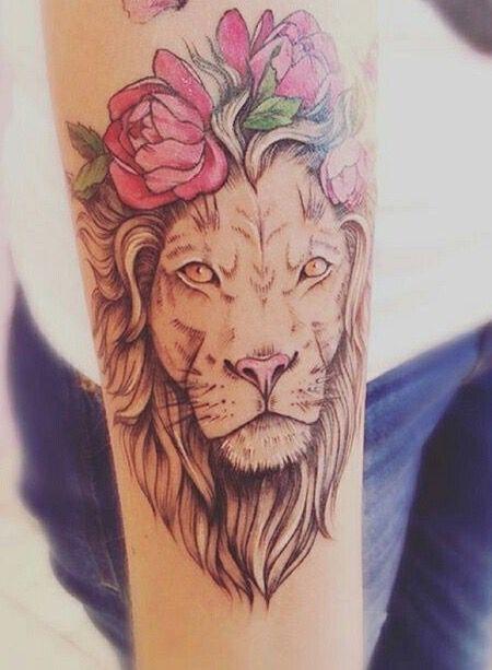 Le meilleur tatouage de lion pour vous et votre roi intérieur de la jungle! Top 151 92