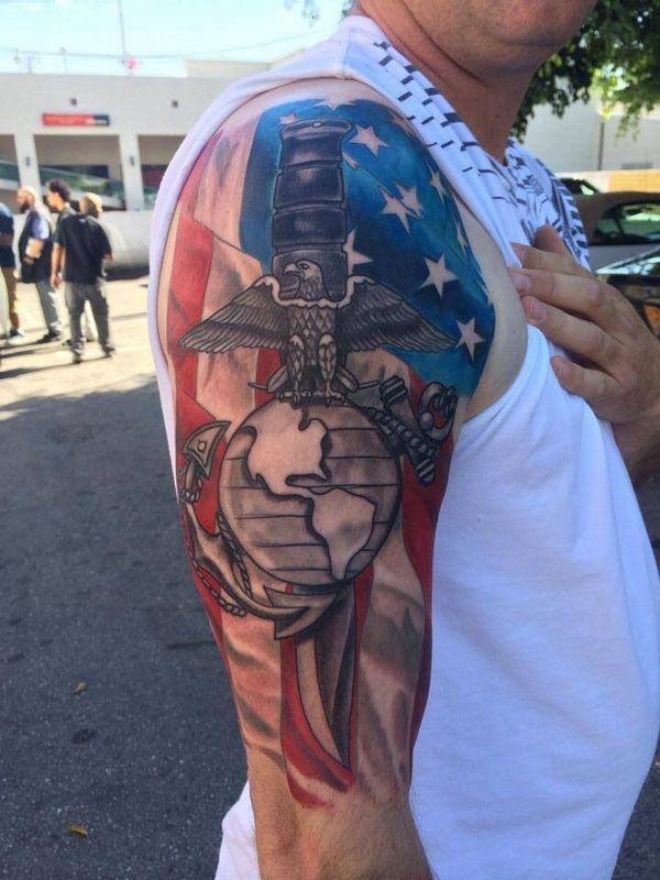 tatouage militaire 17